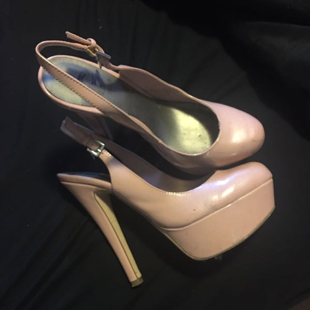 Baby Pink Guess Heels