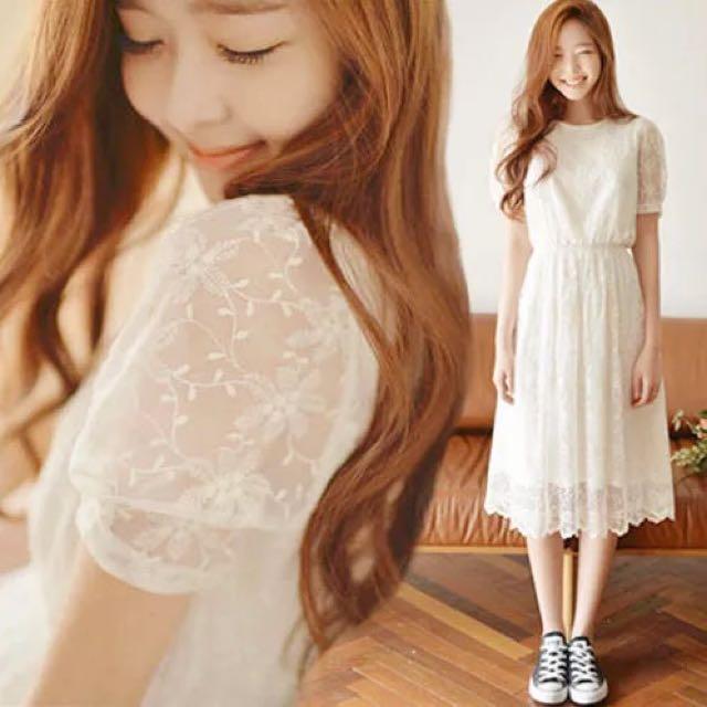 Beautiful In White Dress