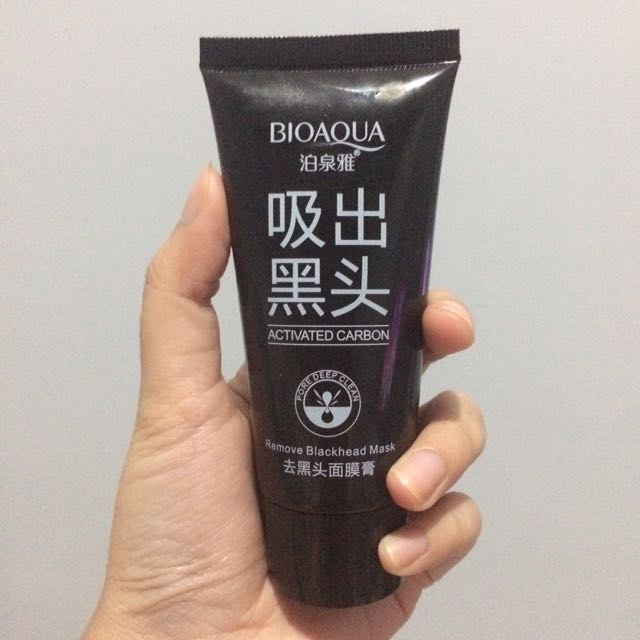 Bioaqua Actived Carbon Remove Blackhead Mask