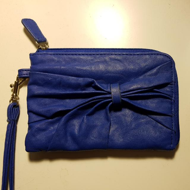 Blue Lula Wristlet