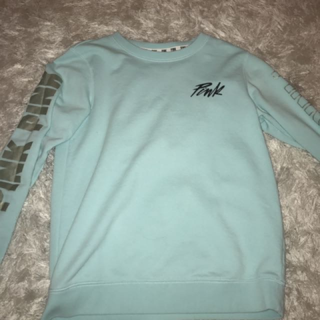 Blue Sweatshirt from Pink