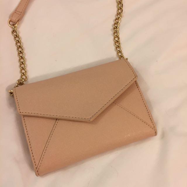 Blush Pink Crossbody Bag