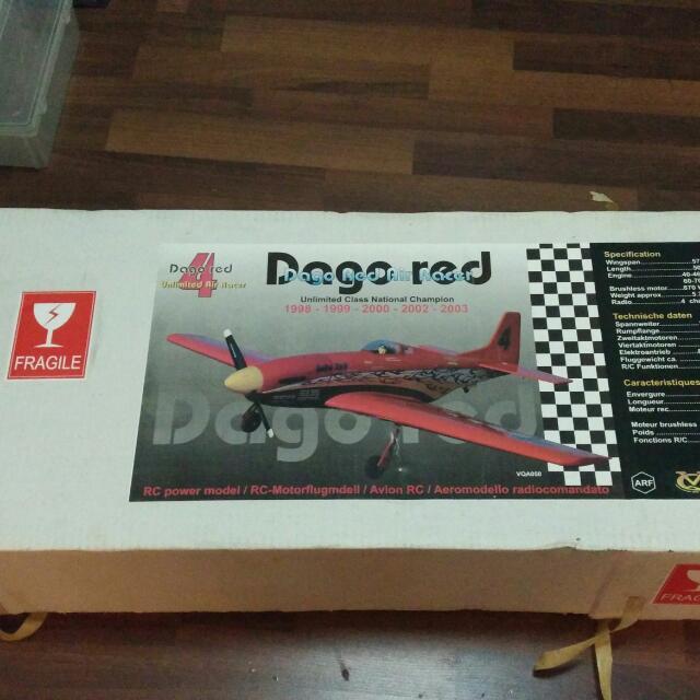 Brand new balsa kit P51 Mustang Warbird in Reno racing Dago
