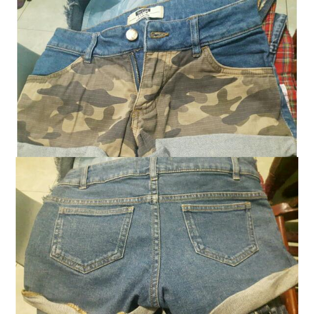 Camou Short
