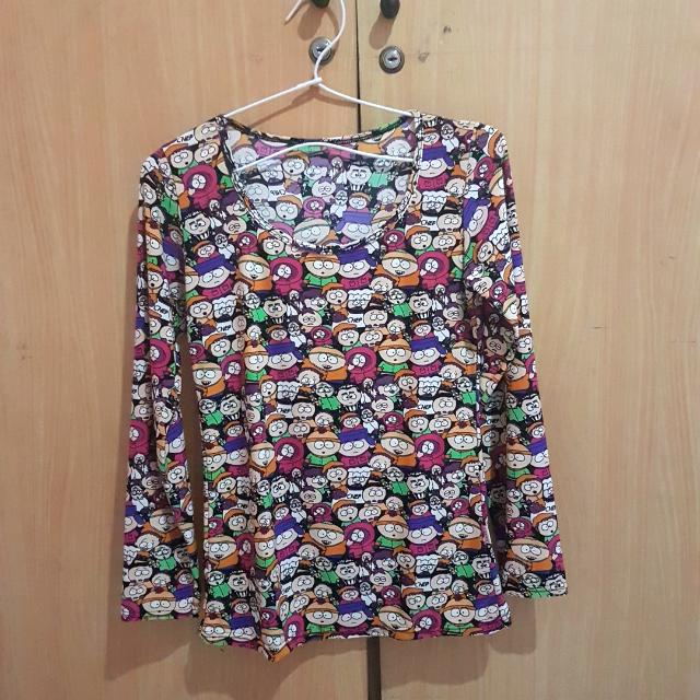 Cartoon Long Shirt