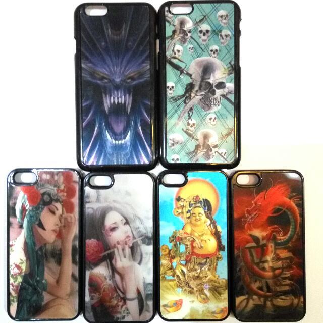CASE IPHONE 5 & 5s 3D (3 DIMENSI)
