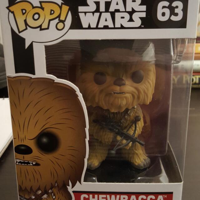Chewbacca Pop Figure