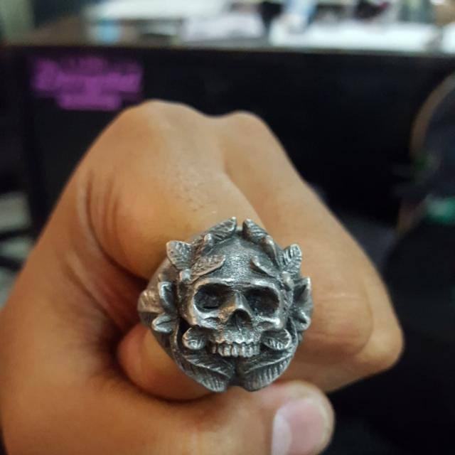 Cincin FOURSPEED Skull (Type 4)