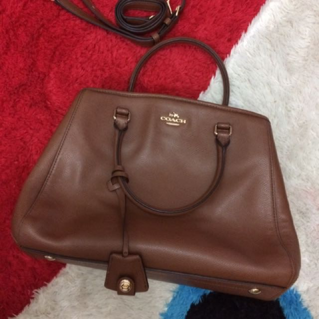 Coach Authentic Crossgrain Small Margot Carryall