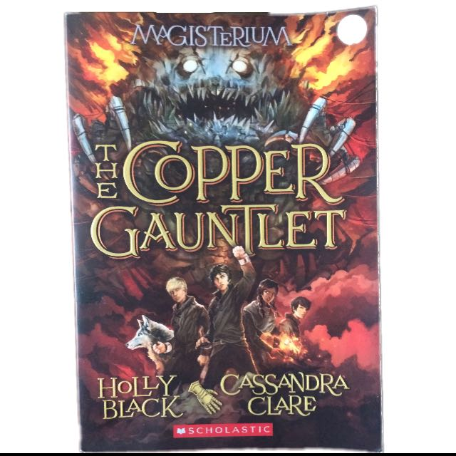 Copper Gauntlet Book FREE SHIPPING