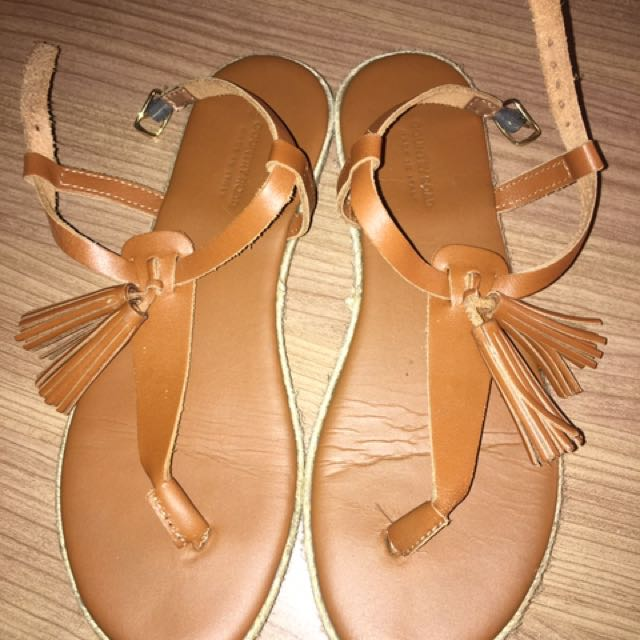 Country Road Tan Sandals