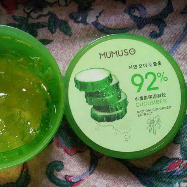 Cucumber Moisturuzing Gel