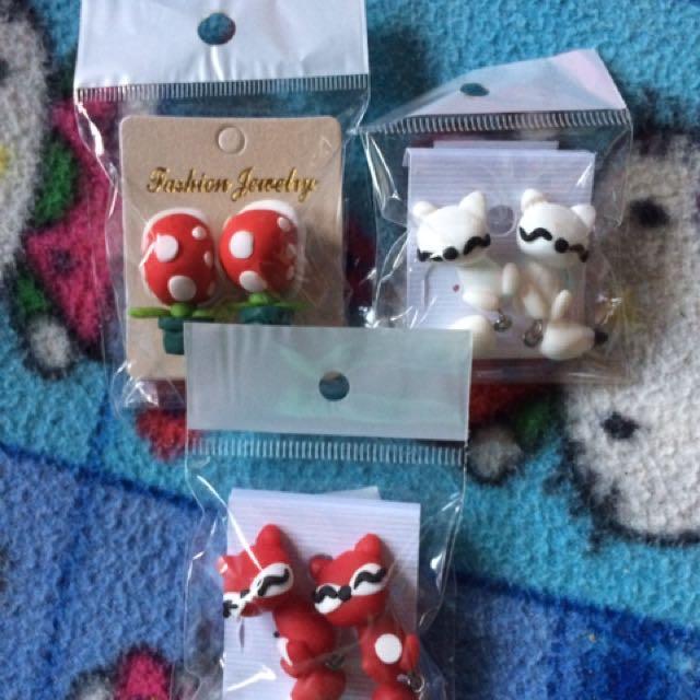 Cute Clay Earrings