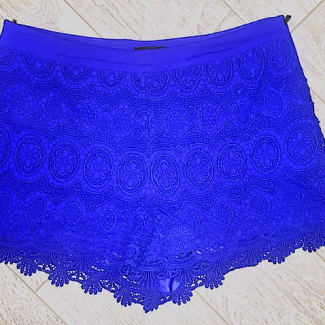 Dark Blue Shorts