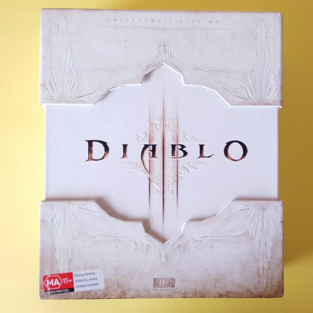 "Diablo 3 collectors edition ""Pc"""