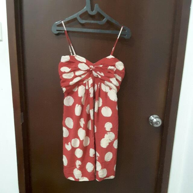 DKNY dress Red