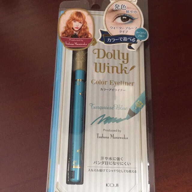 Dolly Wink Color Eyeliner Turquoise Blue