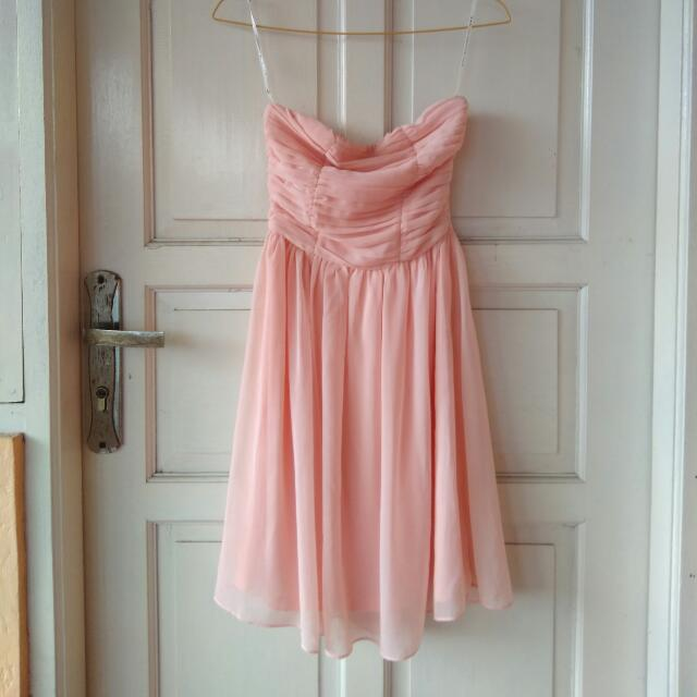 Dress Peach Pink Love Bonito