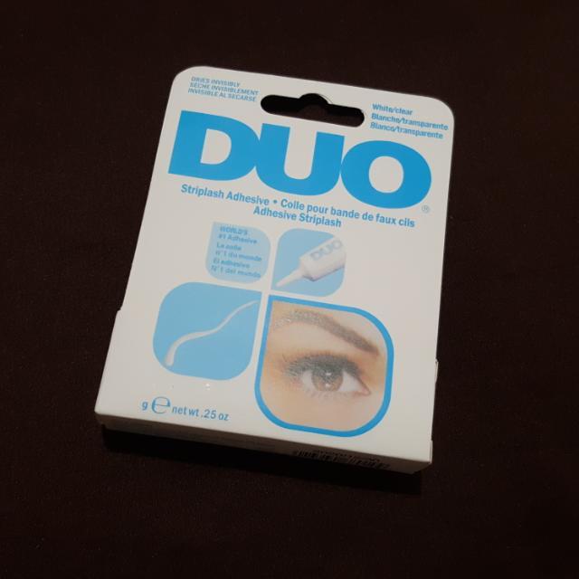 DUO Eyelash Adhesive Clear White