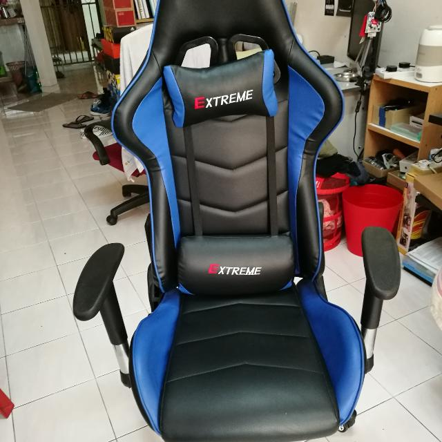 Extreme Gaming Chair, Electronics, Computer Parts U0026 Accessories On Carousell