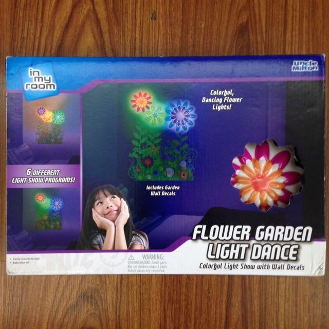 Flower Garden Light Lamp