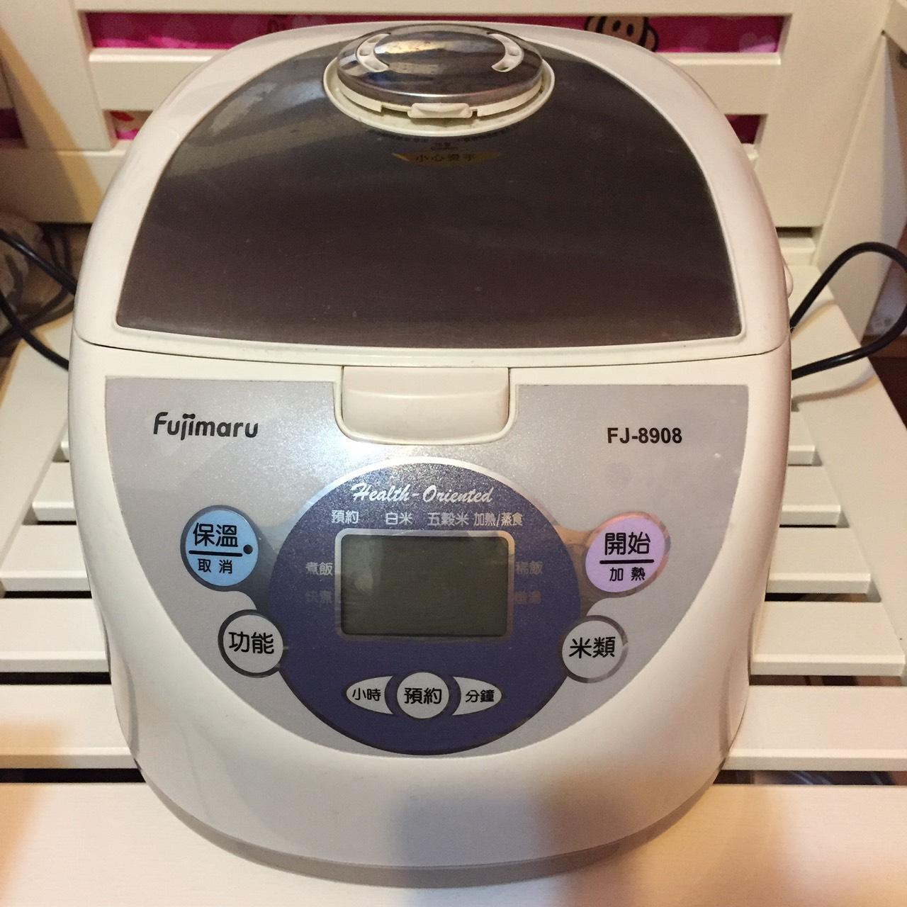 FUJIMARU - FJ-9808  10人份 黑金鋼 微電腦 健康概念 電子鍋