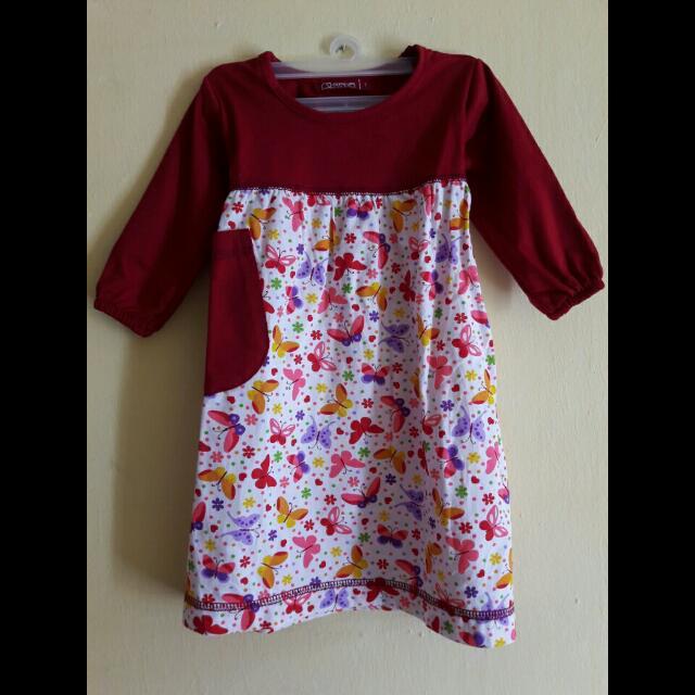 Gamis/Baju Muslim Anak Uk. 1y