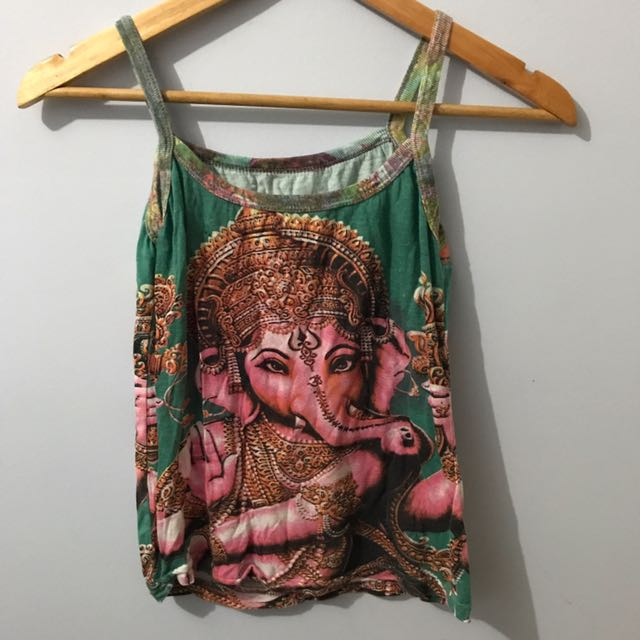 Ganesh Print Top