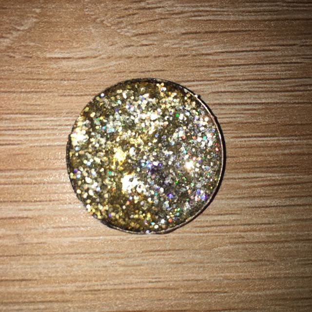 Gold Depotted Glitter