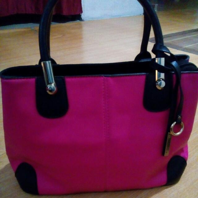 Handbag Pink Colour Women S Fashion Bags Wallets On Carousell