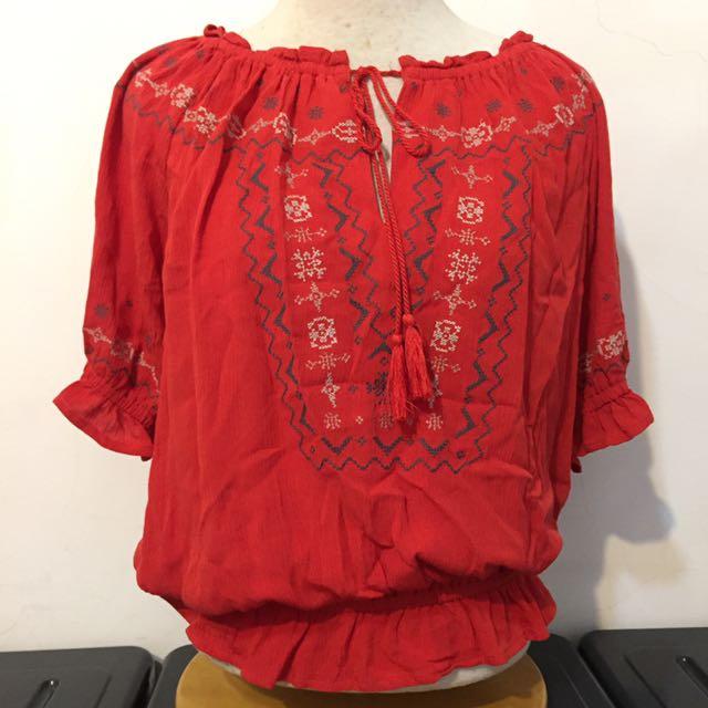 日系品牌Heather 民族風 上衣