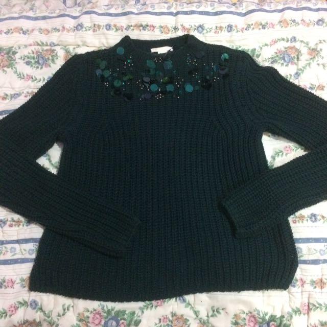 H&M Woll Sweatshirt