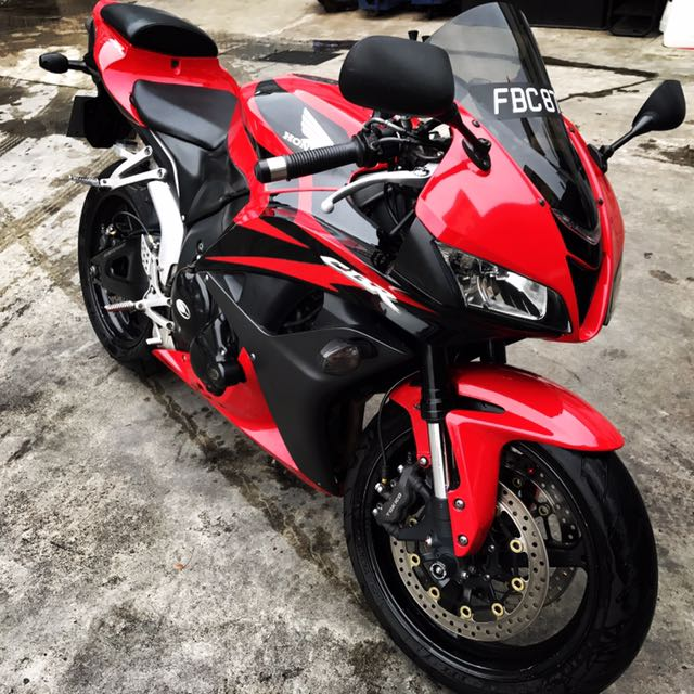 honda cbr600rr 2008 model motorbikes motorbikes for sale class 2 on carousell. Black Bedroom Furniture Sets. Home Design Ideas