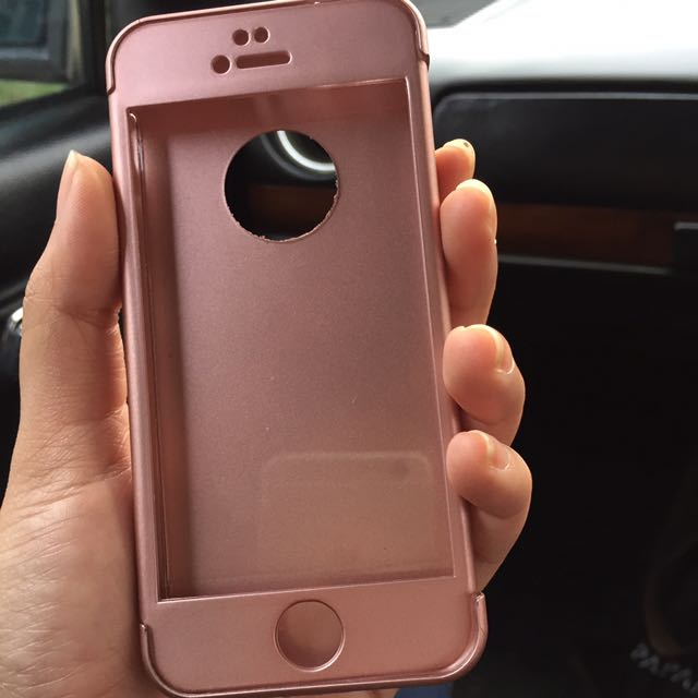 Iphone 5/5s Case Rosegold