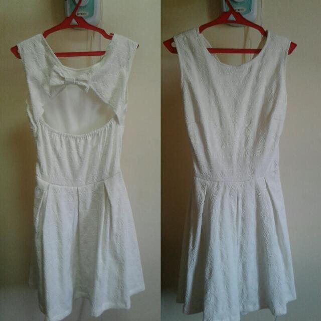 Just G White Dress