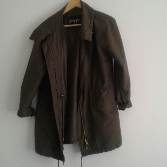 Khaki Nasty Gal Jacket