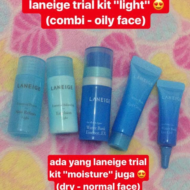 Laneige Trial Kit - Light (100% Original)