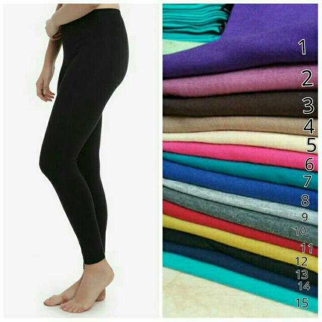 Legging Ukuran Xl Celana Wanita Legging Bawahan Leging Rayon Spandek Olshop Fashion Olshop Wanita Di Carousell