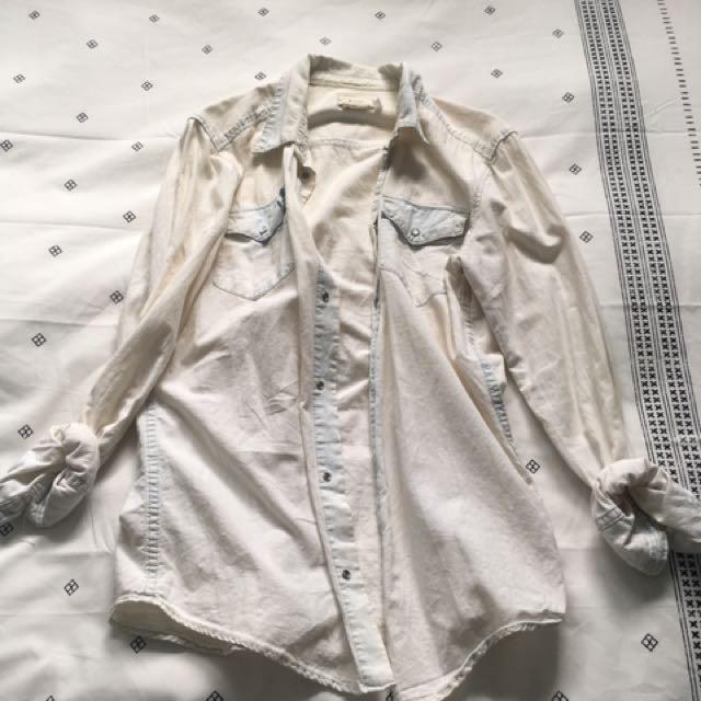 Light Denim Shirt H&M