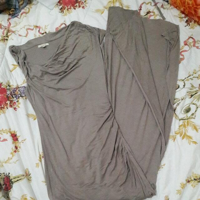 Long Dress Mocca Et Cetera