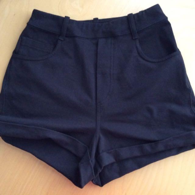 Lululemon High Rise Shorts