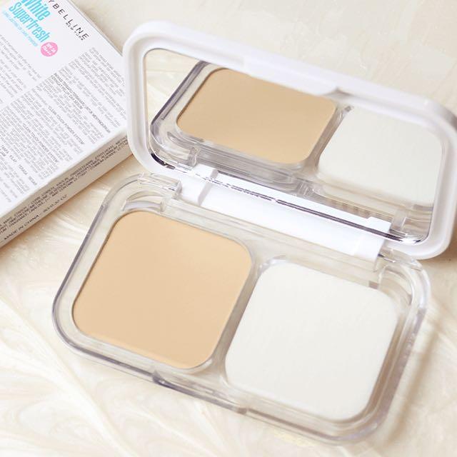 Maybelline White Superfresh UV Cake Powder