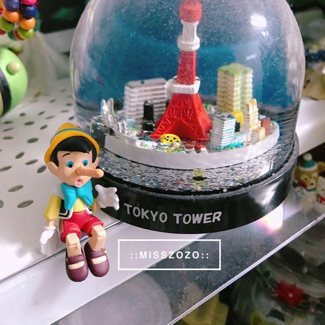 MZ::全新日本Disney 迪士尼經典人物小木偶杯緣子