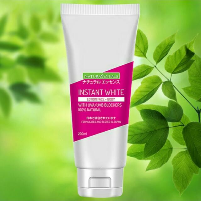 Naturacentials Instant White Lotion