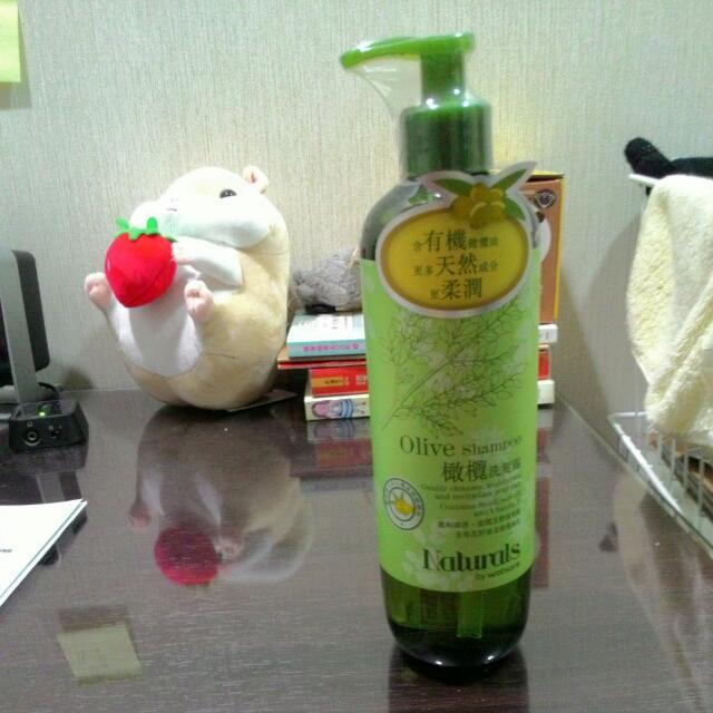 (含運)Natural By Watsons橄欖洗髮露