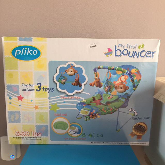NEW eks kado Pliko My First Bouncer