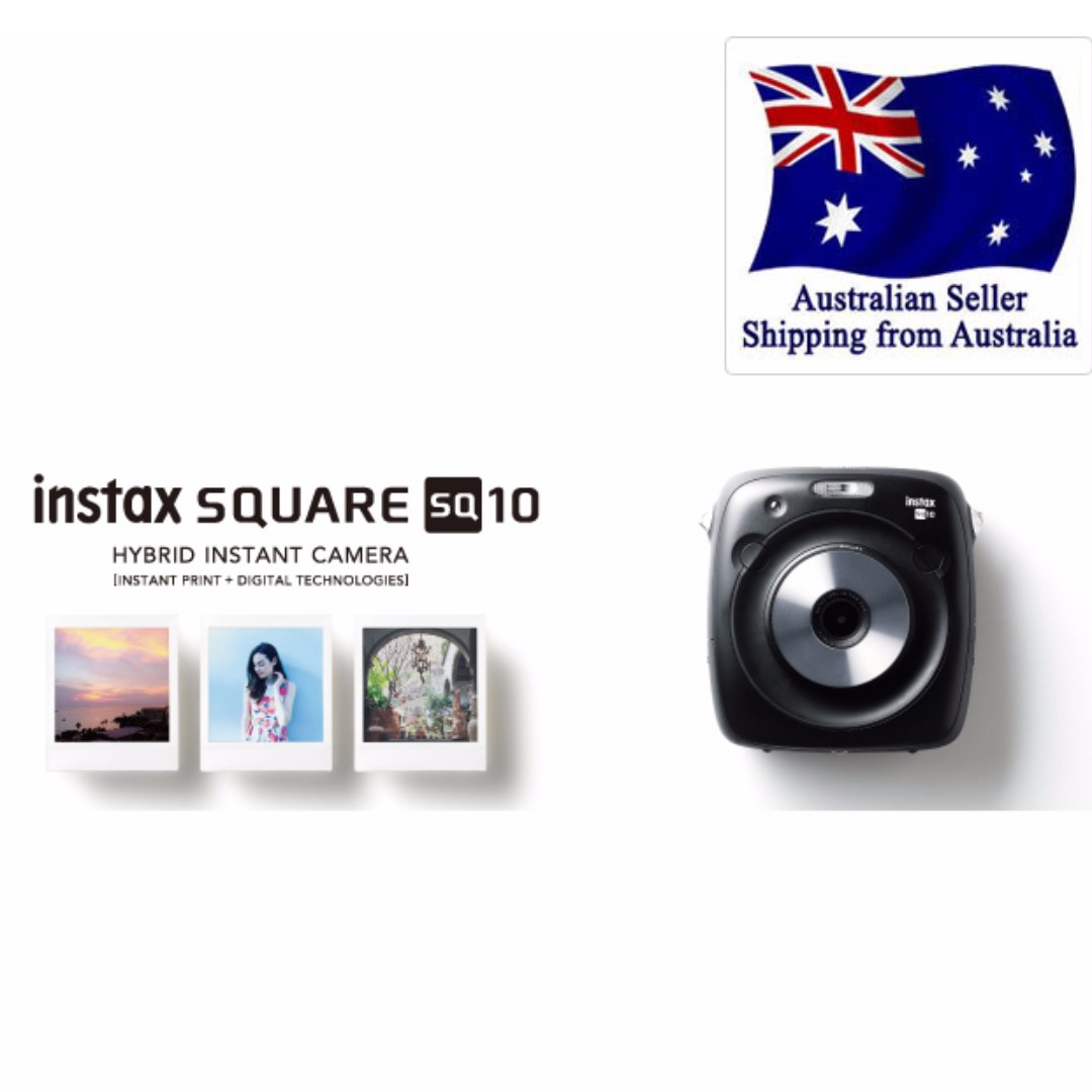 NEW FUJIFILM INSTAX SQUARE SQ10 Hybrid Instant Camera