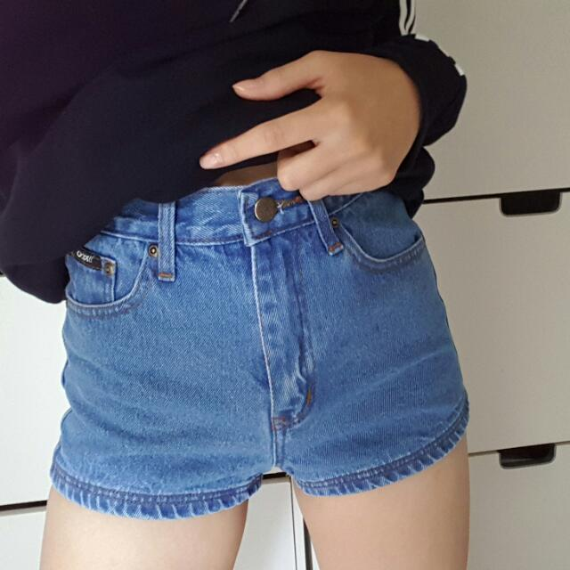[NEW] High Waisted Shorts, Size 6