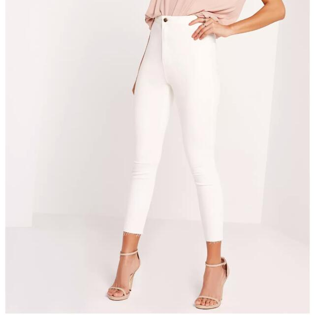 NEW missguided cropped jeans