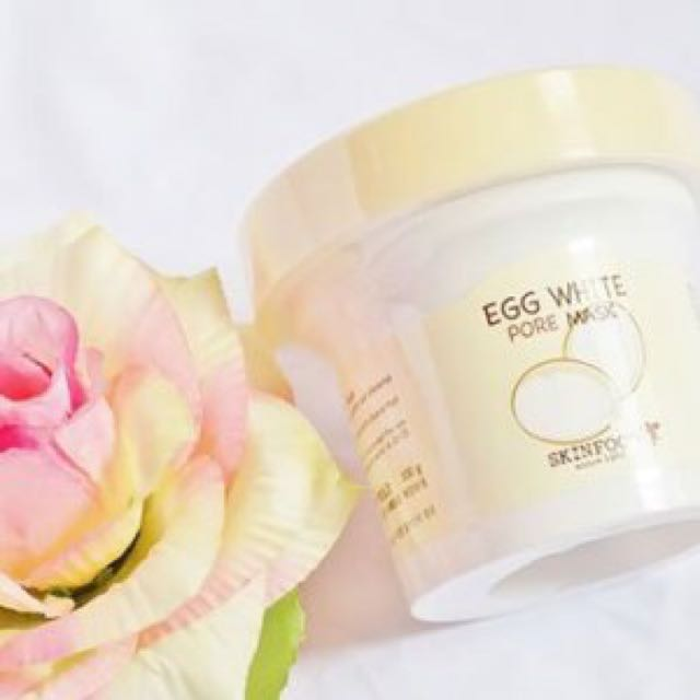 Skin Food - Egg White Pore Mask | Korean Skin Care Products to Add to Your Beauty Regimen